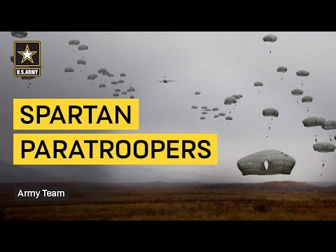 Spartan Paratroopers Complete 100th Jump