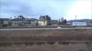 【横面展望】あいの風ライナー1号泊行き 金沢~富山