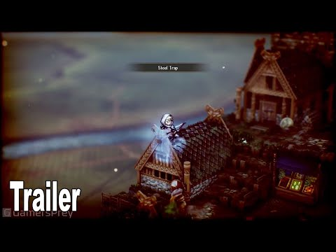 Triangle Strategy - Gameplay Trailer [HD 1080P]