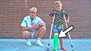 Tydus BROKE HIS LEG hospital