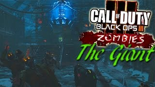 "Black Ops 3 Zombie ""THE GIANT"" ! Découverte & Délire (BONUS MAP ZOMBIE)"