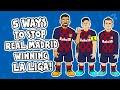 5 ways to STOP Real Madrid winning La Liga! ► Onefootball x 442oons