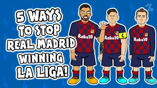 5 ways to STOP Real Madrid winning La Liga! ► Onefootball x 442oons