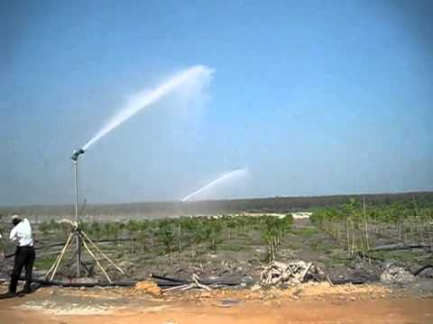 Evergreen watermaster reel gun doovi for Irrigatori nelson