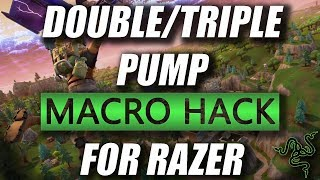 FORTNITE DOUBLE/TRIPLE MACRO HACK FOR RAZER (CROSSBOW UPDATE)