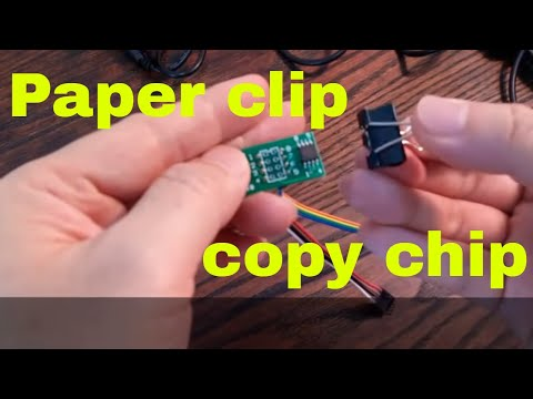 Copy eprom flash chip to chip without computer ezp2010 copy tools