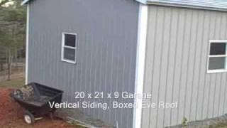 Customer Metal Garage From Carports.com