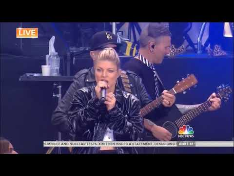 Fergie  Big Girls Dont Cry  Today Show Concert Series