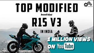 Yamaha R15 V3.0 best modified 2019  Bandidos PITSTOP
