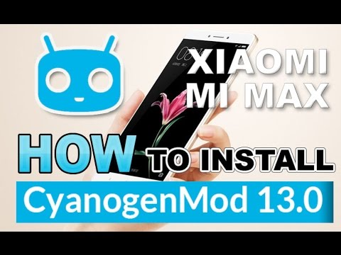 LearnEVThing | How to install Cyanogenmod 13 rom in Xiaomi mi max