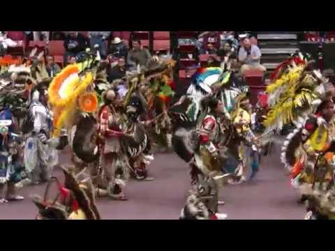 General Grand Entry - He Sapa Wacipi Na Oskate Sunday 2016