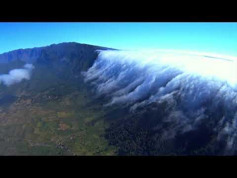 VSC - Alisio rebosante sobre la Cumbre Nueva - El Paso, La Palma HD