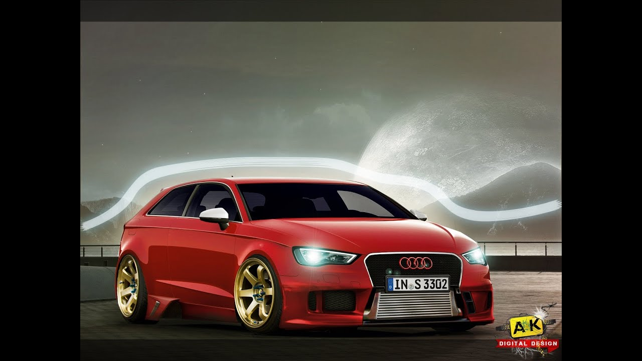 2014 audi s3 modified youtube. Black Bedroom Furniture Sets. Home Design Ideas