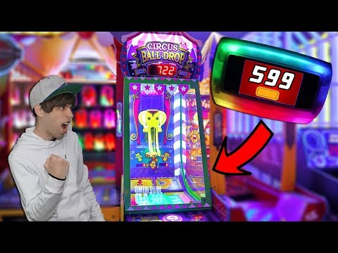 I Won Big Arcade Tickets on New Arcade Games!! Main Event Arcade Fun!
