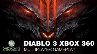 Diablo 3 Xbox 360 multiplayer gameplay with OXM commentary