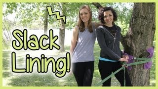 Learning to SLACK-LINE!