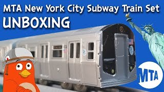 MTA New York City Subway Train Set | Unboxing | For Kids