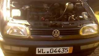 golf 3 1 8 adz aufflliges klackern