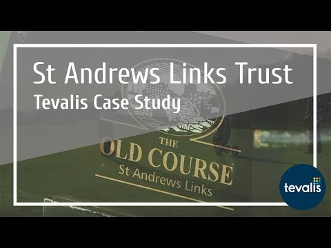 Tevalis Epos Case Study - St Andrews Links Trust