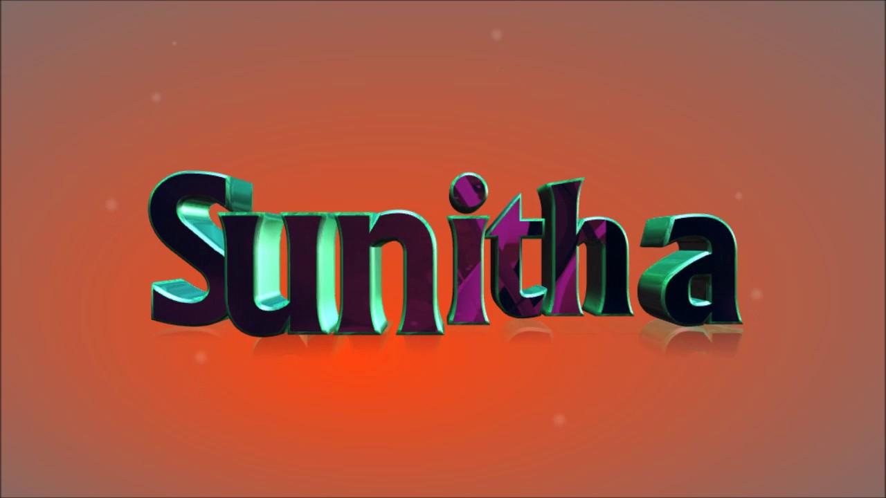 Sunitha Name
