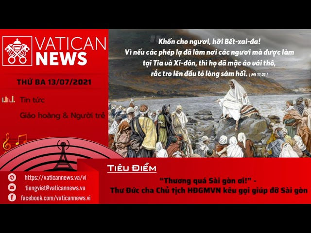 Radio thứ Ba 13/07/2021 - Vatican News Tiếng Việt
