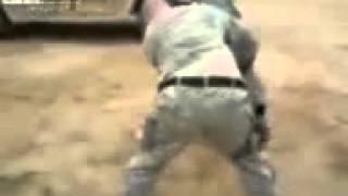 American Vs Iraqi Beduin بدوي عراقي ضد  جندي امريكي