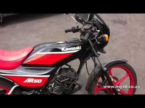 Kawasaki Ar 50cc Youtube