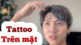 H&M CHANNEL   Xăm Lên Mặt Và Không Tẩy Được   Tattooed On Face