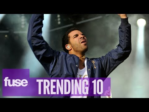 "Drake Drops ""All Me"" ft. Big Sean, 2 Chainz & Aziz Ansari - Trending 10 (8/02/13)"