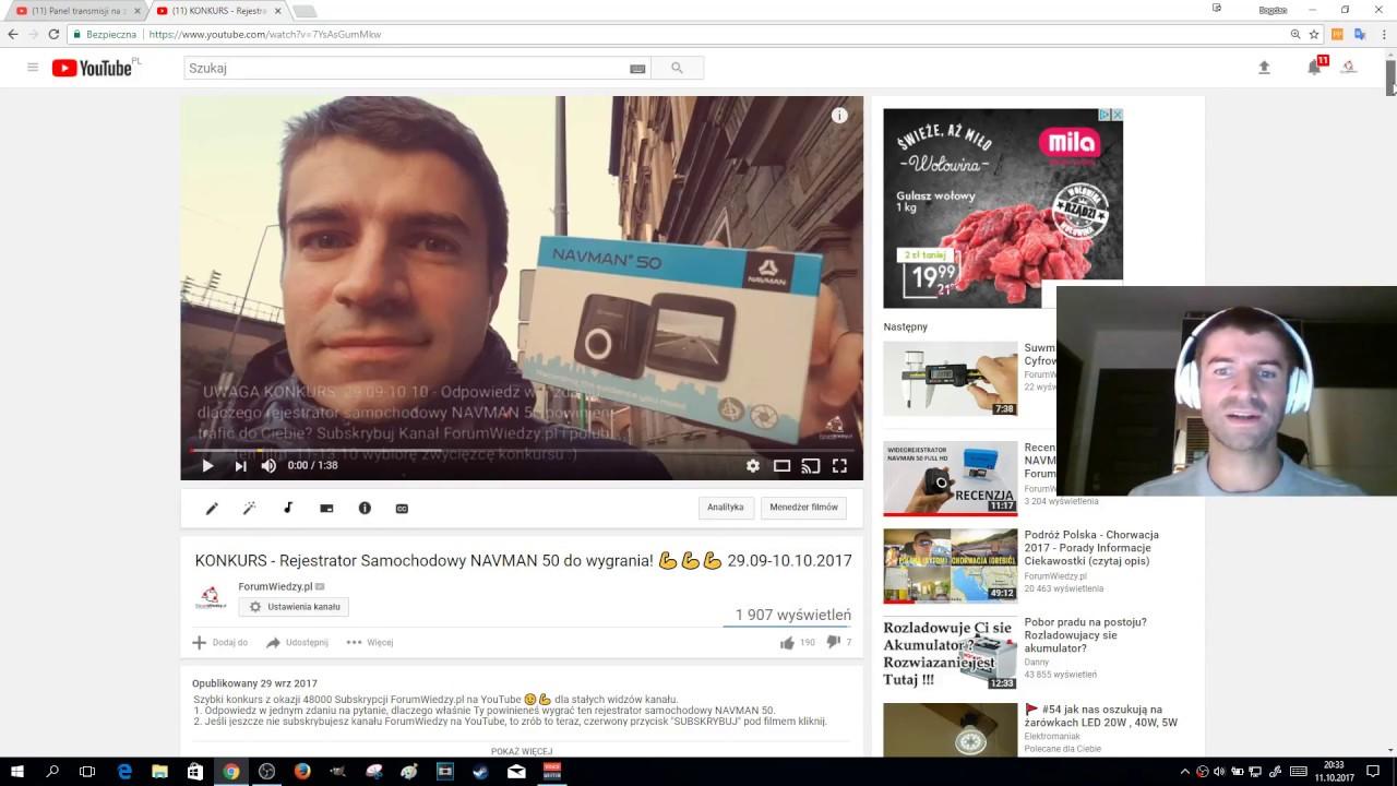 Zwycięzcą konkursu o Wideorejestrator NAVMAN 50 jest… :) Damian N :)