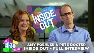 Amy Poehler & Pete Docter - Inside Out - Full Interview