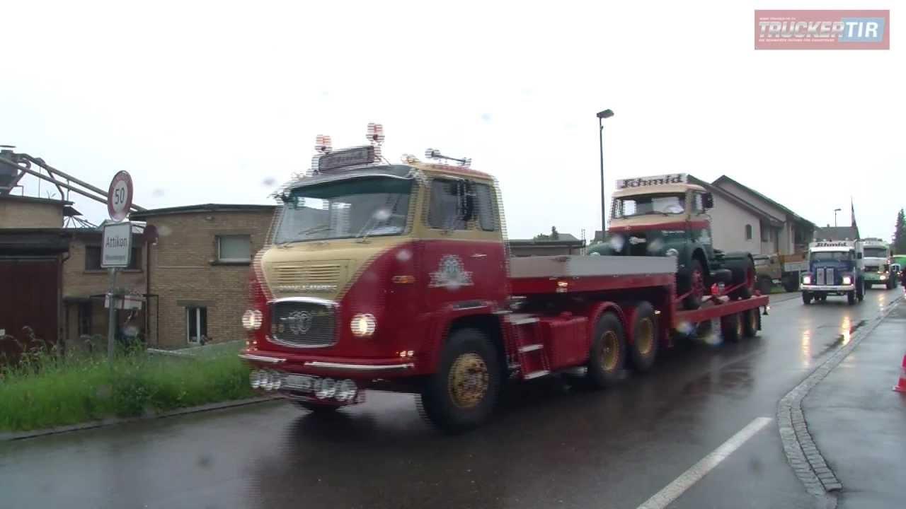 oldtimer trucks on tour motormediatv youtube. Black Bedroom Furniture Sets. Home Design Ideas