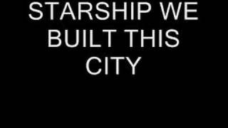 Jefferson starship - we built this city