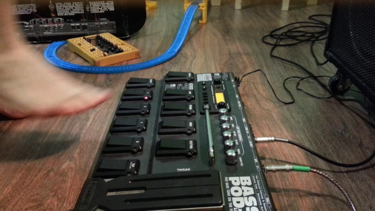 Line6 Bass POD xt Live
