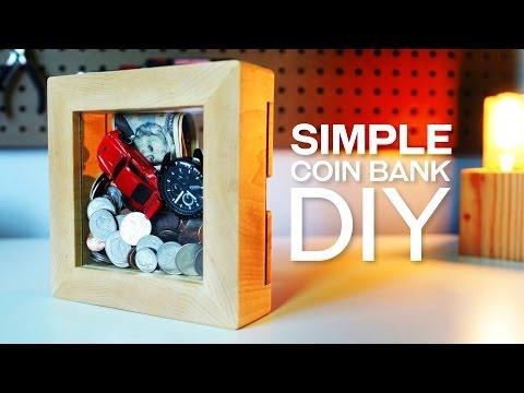 Build A Simple Coin Bank DIY