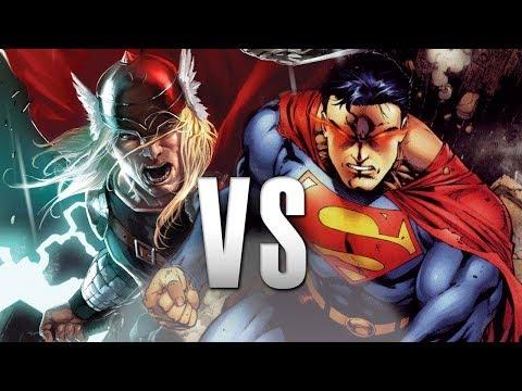 Thor vs Superman | Nhạc phim - Đại chiến siêu anh hùng thumbnail