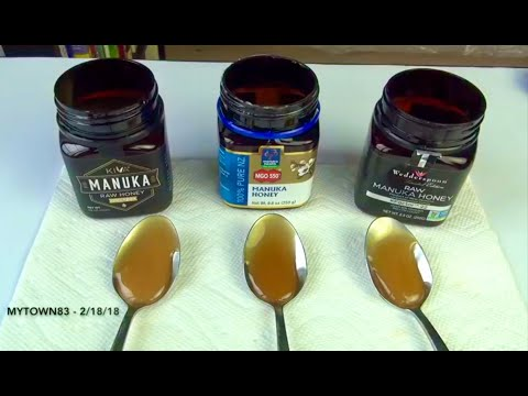 UMF 20+ vs KFactor 22 vs MGO 550 (Top Manuka Honey Compare)