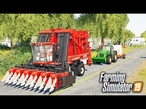 FS19- COTTON TRAIN COMING THROUGH! STARTING COTTON ON A NEW FIELD | FARMING SIMULATOR 2019