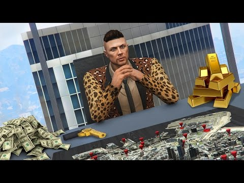 GTA 5 CEO Life #1 - TAKING OVER LOS SANTOS!! GTA 5 CEO Update! (GTA 5 Finance & Felony DLC Gameplay)