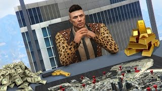 GTA 5 CEO Life #1 - TAKING OVER LOS SANTOS!! GTA 5 CEO Update! (GTA 5 Finance & Felony DLC Gameplay)