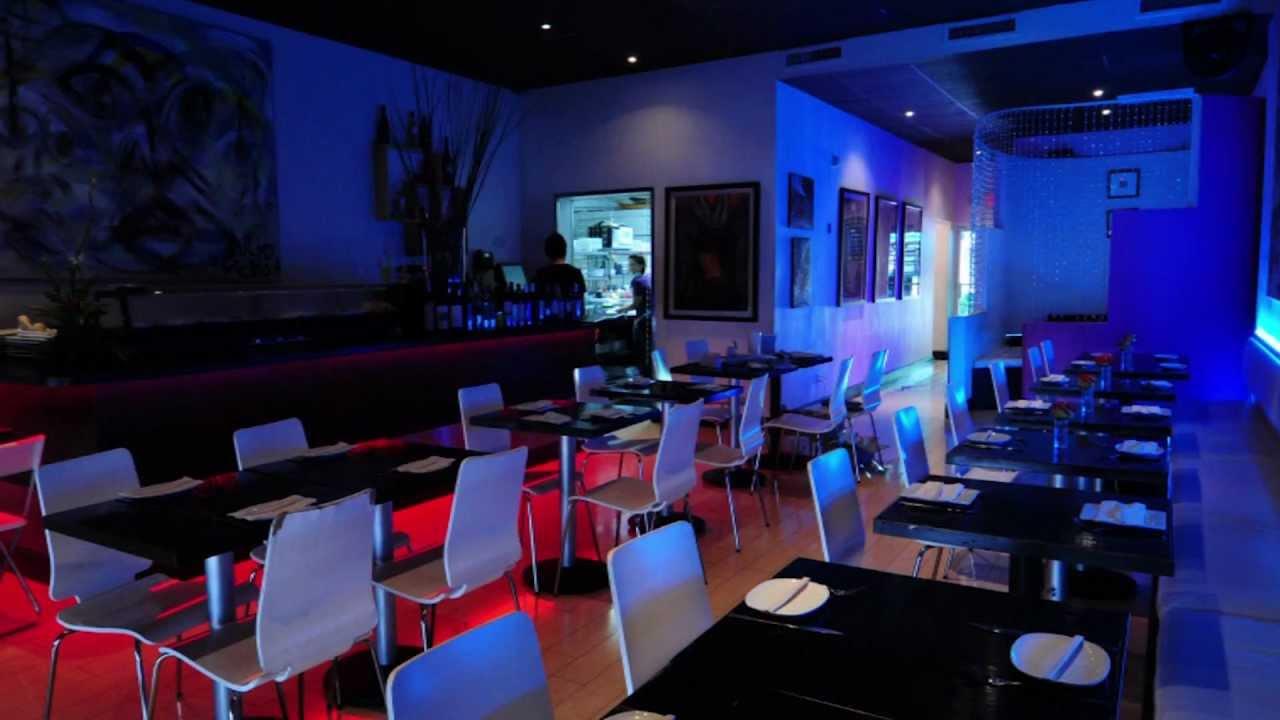 restaurant lighting multicolored led flexible light kit youtube