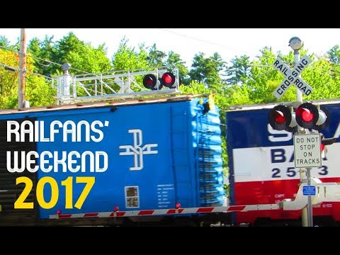 RAILFANS' WEEKEND 2017: CONWAY SCENIC RAILROAD
