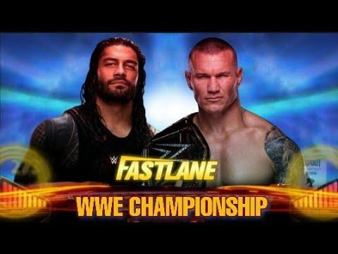 Wwe Fastlane 2020 Full Show.Wwe Fastlane 2020 Early Match Card Predictions