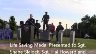 Florence Alabama Police Memorial and Officer Recognition