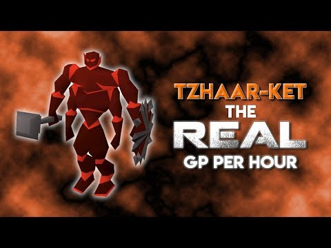 TzHaar-Ket: The REAL GP Per Hour [RGP Ep. 07]