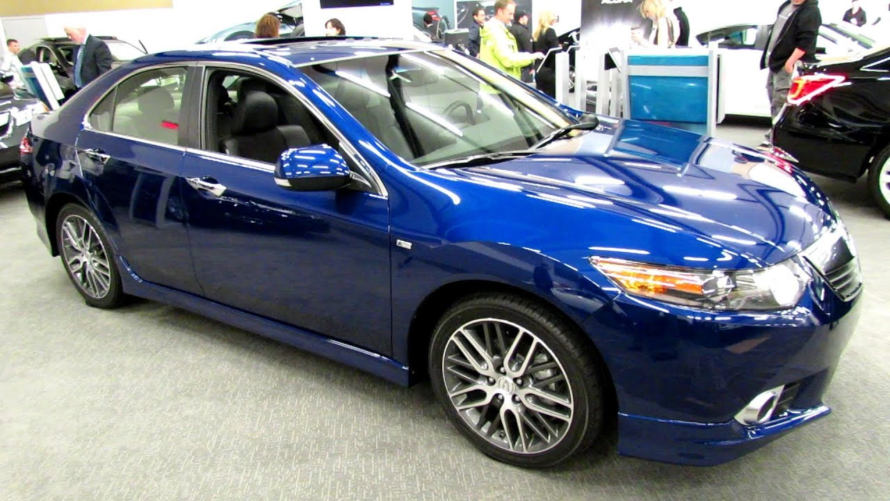 2013 Acura Tsx A Spec Exterior And Interior Walkaround