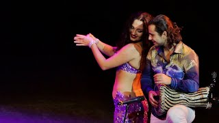 Dariya Mitskevich and Artem Uzunov BELLY DANCE Darbuka / Tabla / Drum solo