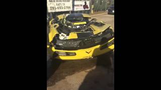 2016 Corvette ZO6 C7.R Special Edition Totaled