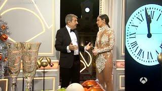 Así dieron las campanadas Cristina Pedroche y Carlos Sobera en Antena 3