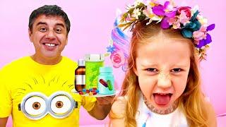 ناستيا وأبي, قصص مفيدة للاطفال في هذا الحجر الصحي